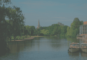 Stratford upon avon Location