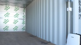 beyond Carmarthen storage insulated containers