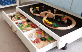 children room storage tips