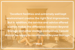 Beyond Storage Facilities Reviews from Customers