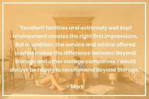 Customer Review on Beyond Business Storage Facilities