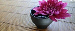 new year refresh declutter flower
