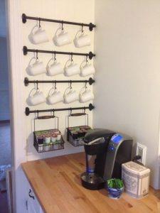 storage hacks tiny kitchen