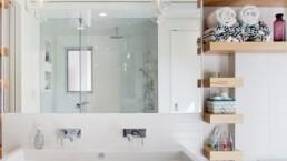 stylish storage mirror