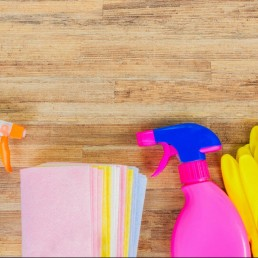 Spring cleaning equipment - ready to spring clean