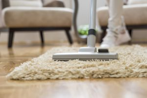 Spring Cleaning - cleaning the carpet and house