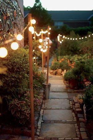 clever ways brighten garden