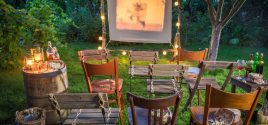 How to create your own Outdoor Cinema in your Garden