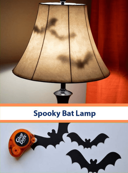 Halloween Arts - Bat Lamp