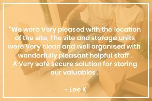 Beyond Storage Customer Review From Lee K