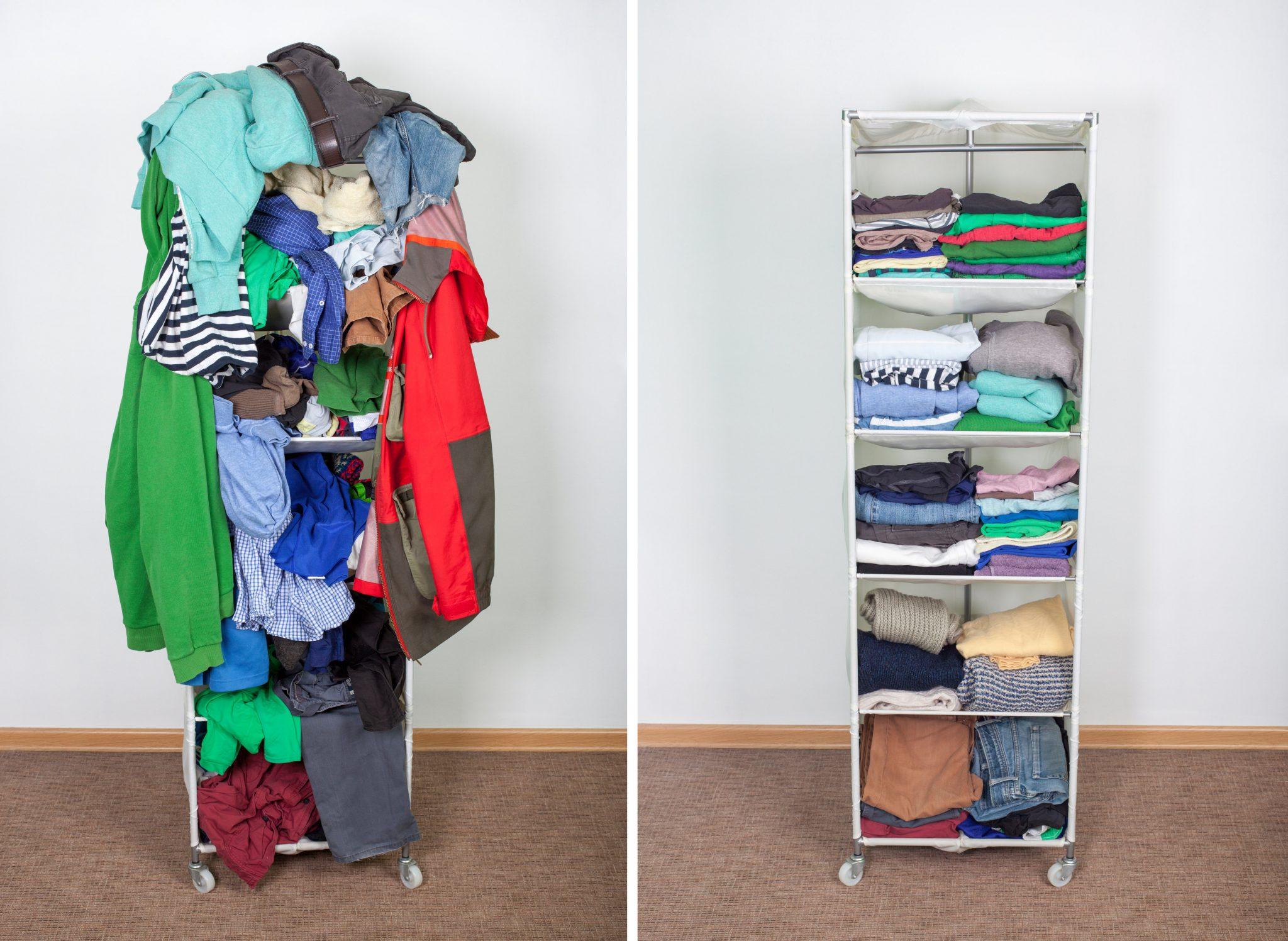 Beyond Storage 30 Day Room Declutter Challenge. Marie Kondo. Declutter room.