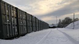 Beyond Storage Ross-On-Wye in Snow