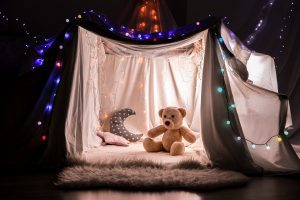 Blanket fort home activities