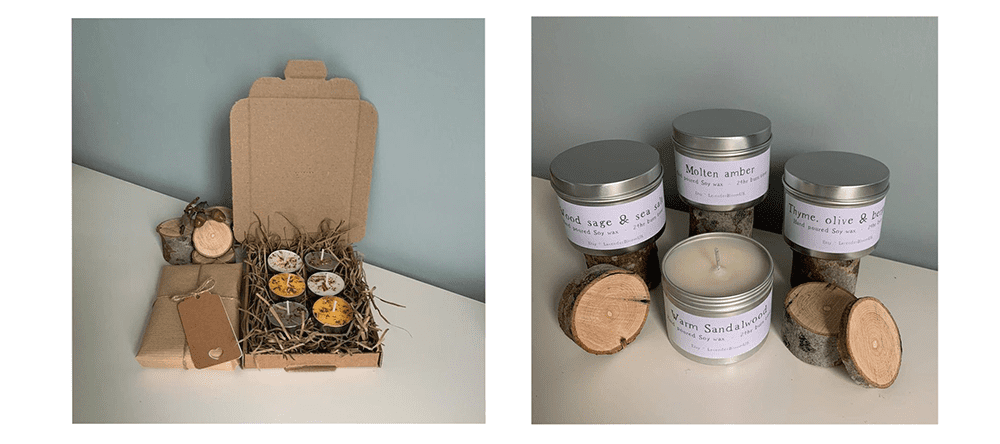 Small Business Gift Guide - Handmade Candles