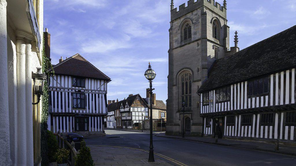 lamppost in Stratford-upon-Avon